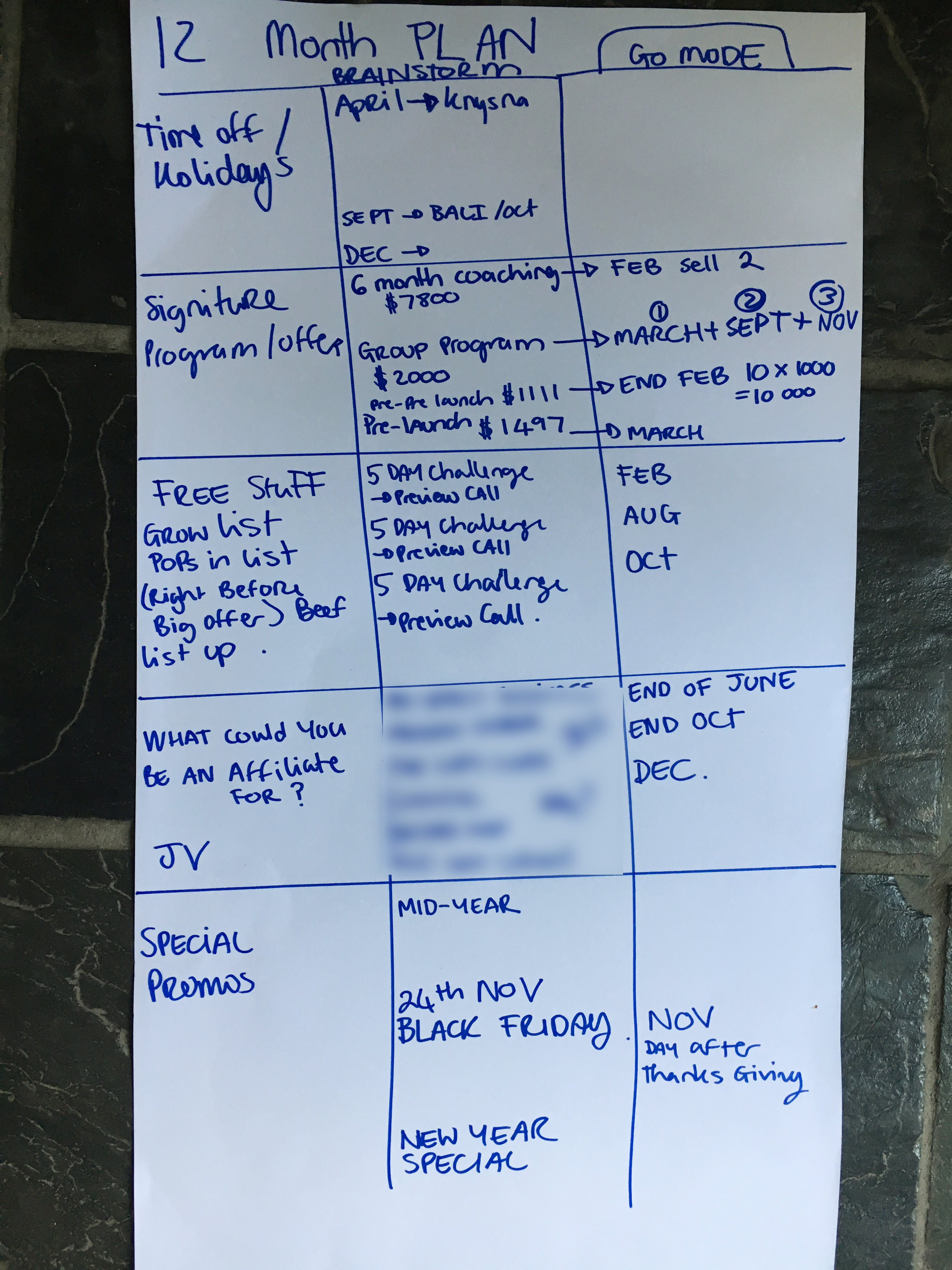 12-month-brainstorm
