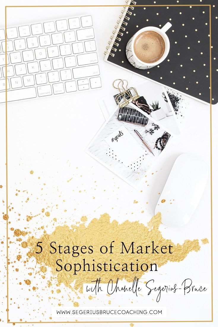 What are the 5 stages of market sophistication