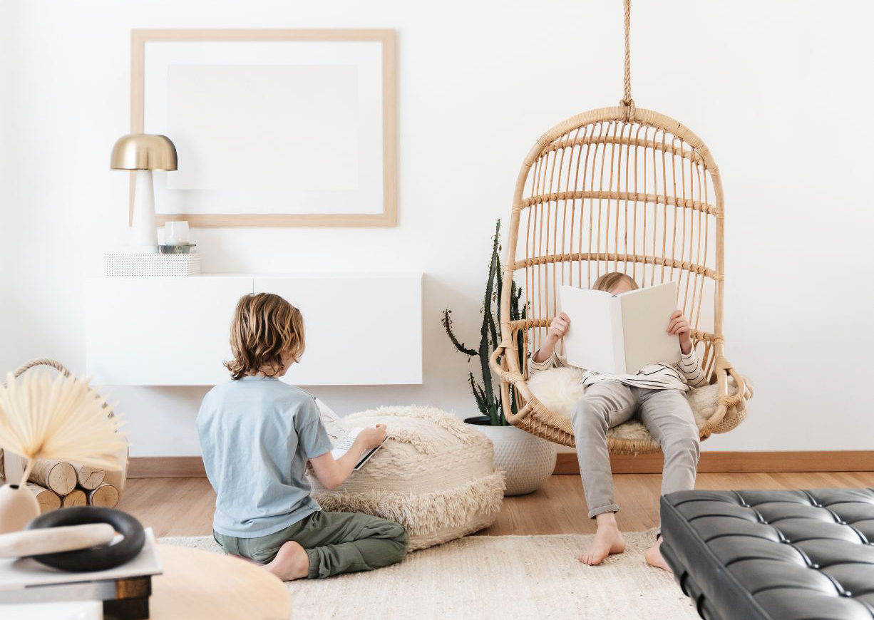 kids at home during covid 19
